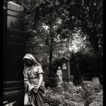 photo taken on the Hauptfriedhof (main cemetery) in Frankfurt, Germany