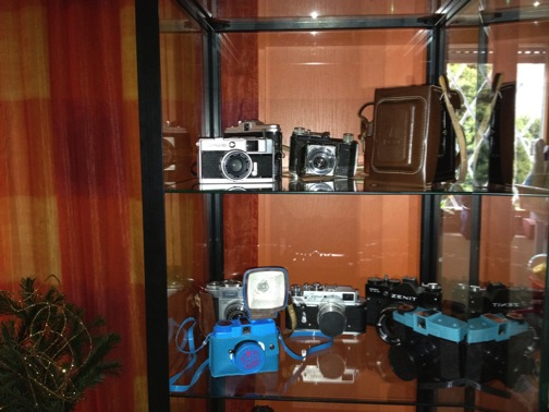 Showcase for my analogue cameras