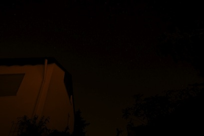 Long time exposure for a beautiful night sky